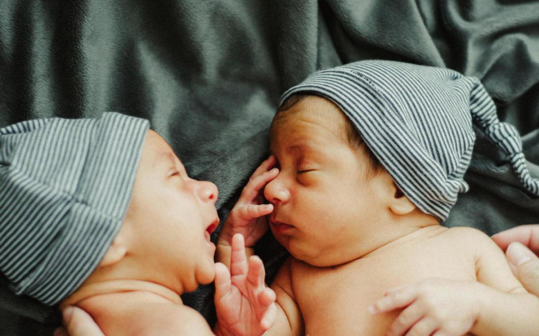 « Oooh des jumeaux !?! Moi, je ne pourrais pas ! »