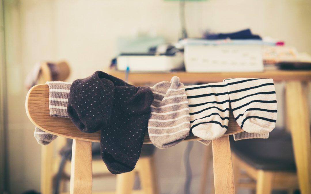Besoin de se défouler ? Testez le karaté-chaussettes !
