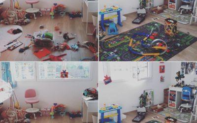 Comment éviter de s'épuiser à ranger la chambre de ses enfants?